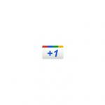 Google Plus +1 button (old)