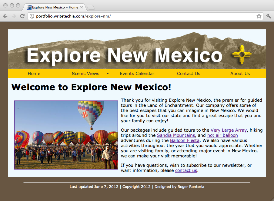 Explore New Mexico
