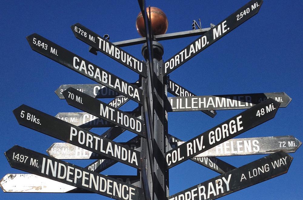 Portland Landmark Sign